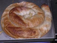 Bosanski Burek (Bosnian ground beef meat pie)