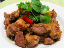 Griots (Haitian fried, glazed pork)