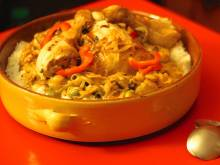 Poulet Yassa (Senegalese chicken with lemon and onions)