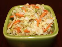 Sweet Coleslaw (American Midwest cabbage salad)