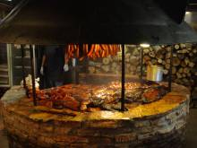 The Salt Lick barbecue in Texas