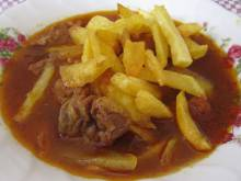 Khoresht Ghaimeh (Persian lamb and split pea stew)