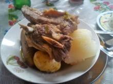 Olla de Carne (Costa Rican beef stew)