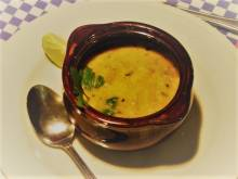 Bowl of sopa de caracol
