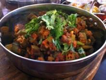 Bhindi Bhaji (Indian curried okra)