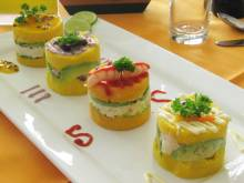 Causa Rellena (Peruvian layered potato dish)
