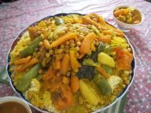 Couscous aux Sept Legumes Recipes (Moroccan couscous with seven vegetables)