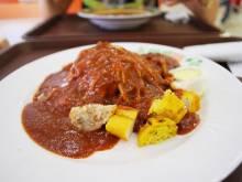 Pasembor Malaysian vegetable salad with peanut sauce