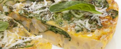 Frittata (Italian open-faced omelet)