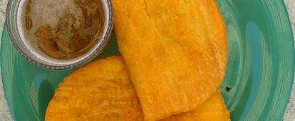 Jamaican Beef Patties (Jamaican spicy curried meat pies)