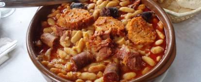 Fabada Asturiana (Spanish sausage and bean stew)