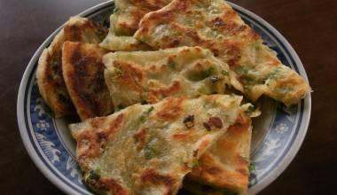 Chun Yao Bang (Chinese fried scallion pancake)