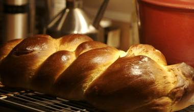 Challah (Jewish braided Sabbath bread)