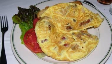 Hangtown fry breakfast