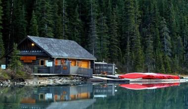 Mountain Lake, Banff, Canada