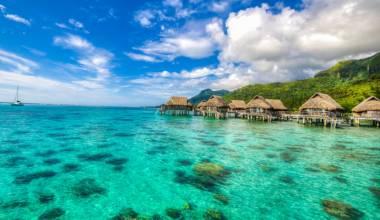 Tahitian lagoon