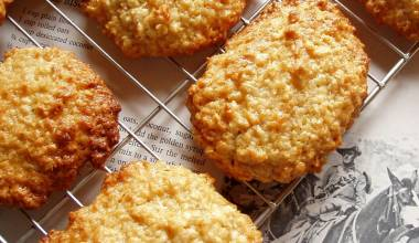 Fresh baked ANZAC biscuits