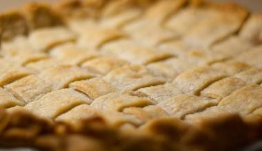 A perfect lattice pie crust