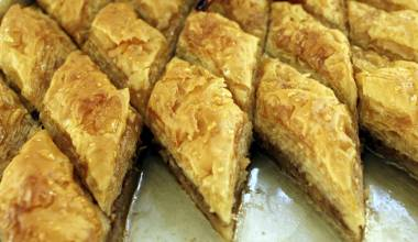 Baklava (Greek, Turkish nut and phyllo sweet pastry)