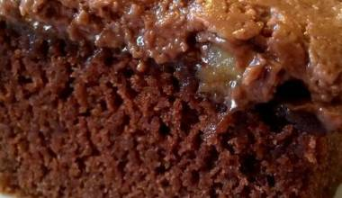 Piece of Coca-Cola cake