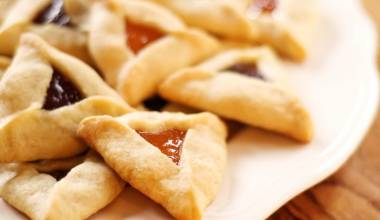 Hamantaschen (Israeli, Jewish filled pastries)