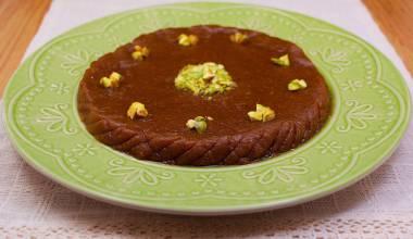 Plate of Persian halva