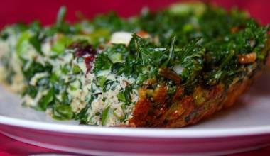 Kookoo Sabzi (Persian herbed omelet)