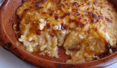 Bacalhau com Natas (Portuguese salt cod with potatoes and cream)
