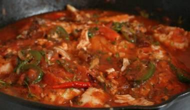 Mexican pescado a la veracruzana