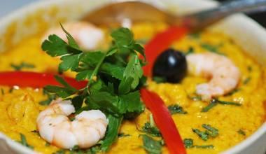 Vatapa Brazilian seafood stew