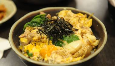 Oyako Don (Japanese chicken and egg rice bowl)