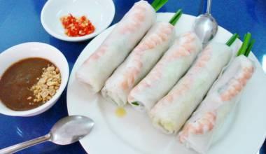 Goi cuon Vietnamese spring rolls