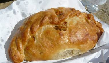 Cornish Pasties (English beef and vegetable pies)