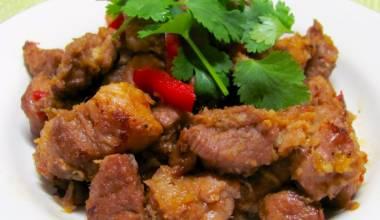 Griots (Haitian fried, glazed pork)