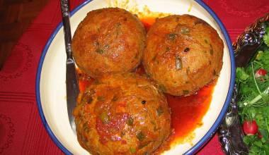 Persian kufteh tabrizi meatballs