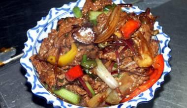 Thai pepper beef