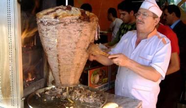 Shawarma vendor