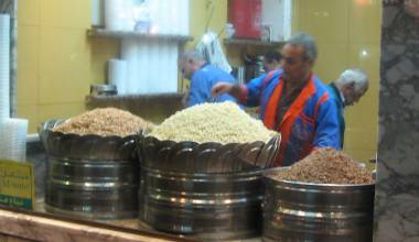 Egyptian kushari shop