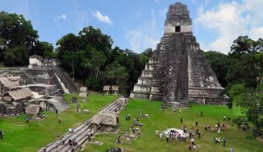 Maya ruins at Tikal, Guatemala