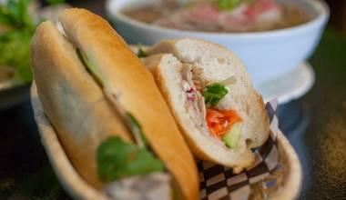 Banh Mi (Vietnamese baguette sandwich)