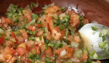 Pebre (Chilean cilantro sauce)