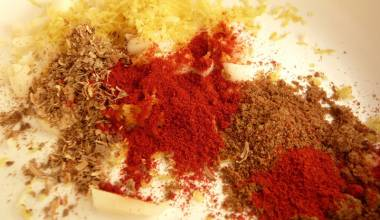 Southwestern Dry Rub Recipe (American Southwest meat, poultry and seafood grill seasoning)