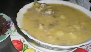 Locro potato-cheese soup