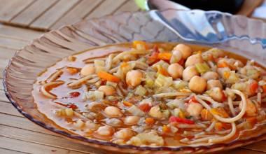 Minestra di ceci Tuscan chickpea soup