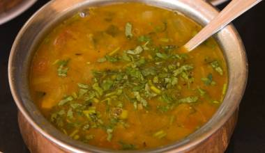 Sambar (Indian spicy lentil stew)