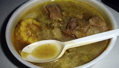 Sancocho (Latin root vegetable stew)