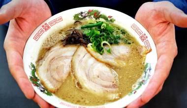 Bowl of tonkotsu ramen
