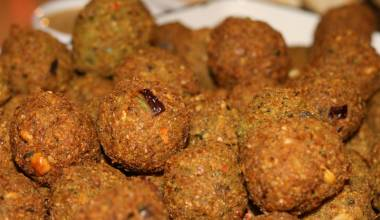 Falafel (Middle Eastern fried chickpea patties)