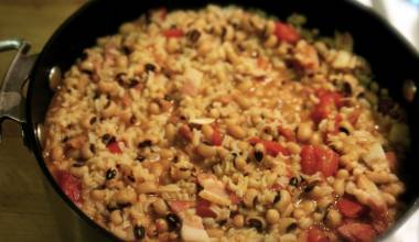 Pot of hoppin' john