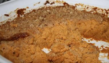 Lanttulaatikko (Finnish mashed rutabaga casserole)